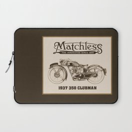 Matchless vintage motorcycle Laptop Sleeve
