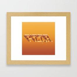 Pizza Day Framed Art Print