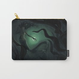 deep water mermaid Carry-All Pouch