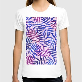 Watercolor Tropical Palm Leaves II T-shirt