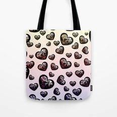 Fab Hearts Tote Bag