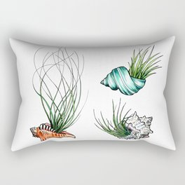 3 Shells Rectangular Pillow
