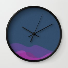 Set Sail #2 Wall Clock
