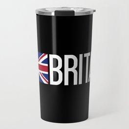 Britain: British Flag & Britain Travel Mug