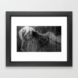 La Confesión Framed Art Print