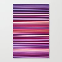 striped Canvas Prints featuring Striped by Scarlet