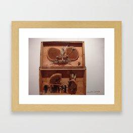 my wooden lung Framed Art Print