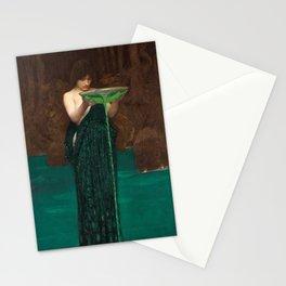 Circe Invidiosa by John William Waterhouse, 1892 Stationery Cards
