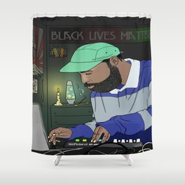 local community turn up Shower Curtain