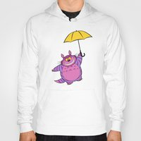 cheshire Hoodies featuring Cheshire Totoro by sirwatson
