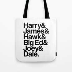 The Bookhouse Boys (White Lodge) Tote Bag