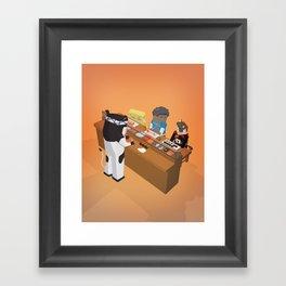The Nick Yorkers in September Framed Art Print