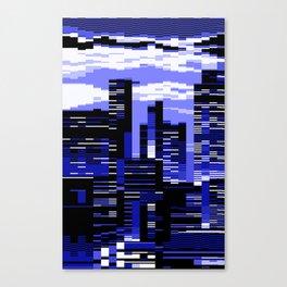 pxl cityscape Canvas Print