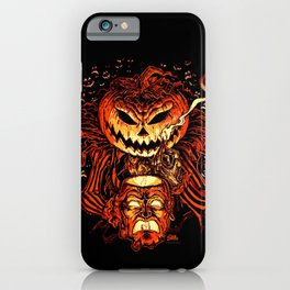 Halloween Pumpkin King (Lord O' Lanterns) iPhone Case