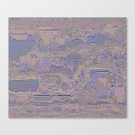 silicon i Canvas Print