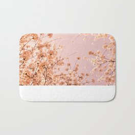SPRING DELIGHT ~ pink Bath Mat