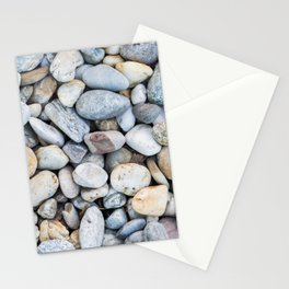 Mixture of Pebbles and Stones Pattern Stationery Cards