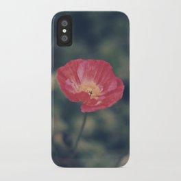 Poppy (2) iPhone Case