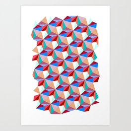 PPPattern PINK Art Print