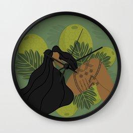 UrbanNesian Ulu Malu Wall Clock