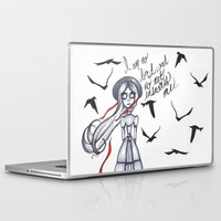 jane eyre Laptop & iPad Skins featuring Jane Eyre by Natalie Easton