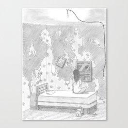 Runaway Girl Canvas Print