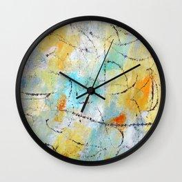 Feeling Lyrical Wall Clock