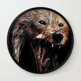 She's a Foxy Lady Wall Clock