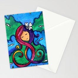 The Sleeping Mermaid Stationery Cards