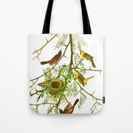 Orchard Oriole Bird Tote Bag