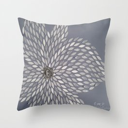 Bloom For Me Throw Pillow