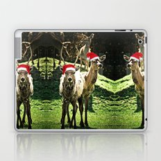 Tis The Season - Reindeer Laptop & iPad Skin
