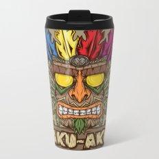 Aku-Aku (Crash Bandicoot) Metal Travel Mug