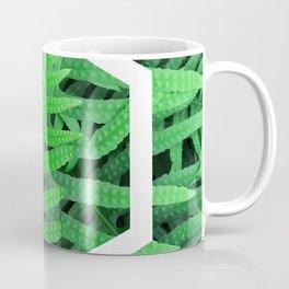 Exagon into the ferns Coffee Mug