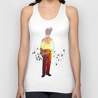 soldier Tank Tops featuring Soldier by CAtsNDresses