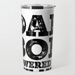 Dad Bod Powered By Tex-Mex Funny Food Lovers Father Figure Gifts Idea Travel Mug