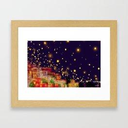 Lights of Hope... Framed Art Print
