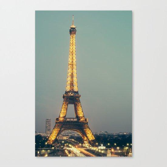 The 90s in Paris Canvas Print