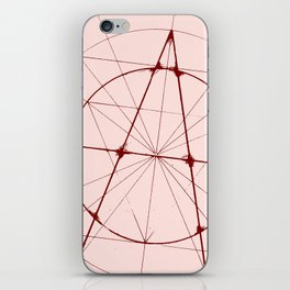 XXIst Century Anarchy iPhone Skin