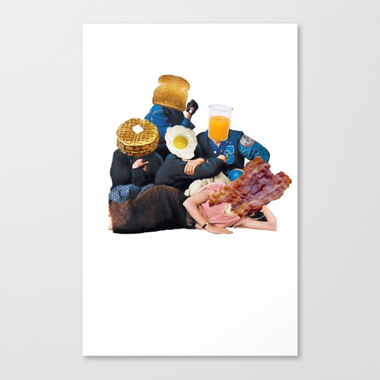 The Most Important Meal of the Day Canvas Print