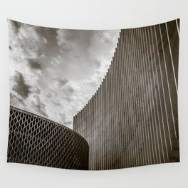 Texturized Brutalism Wall Tapestry