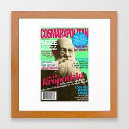 COSMARXPOLITAN, Issue 6 Framed Art Print