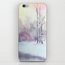 Violet Sky iPhone Skin