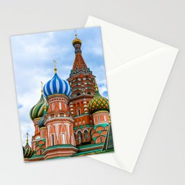 Saint Basil's Cathedral (Red Square in Moscow) Stationery Cards