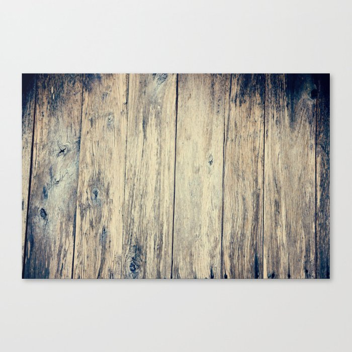Wood Photography II Canvas Print
