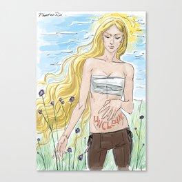 unclean Canvas Print