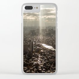 Tokyo View Clear iPhone Case