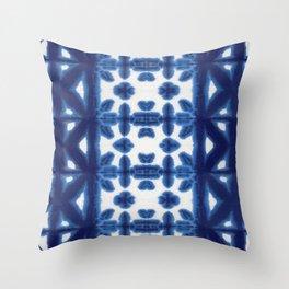 Royal Pima Shibori Throw Pillow