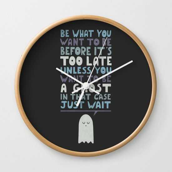 Motivational Speaker Wall Clock
