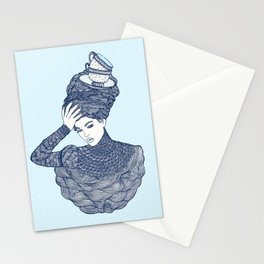 ♥ Early Winter,  Tea time (temporada oficial de tecitos ♥) Stationery Cards